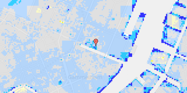Ekstrem regn på Nyhavn 23, 4.