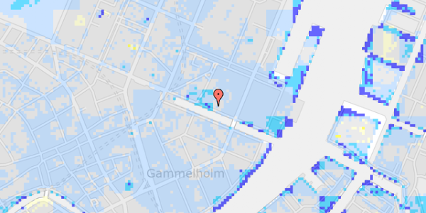 Ekstrem regn på Nyhavn 31A, 2.