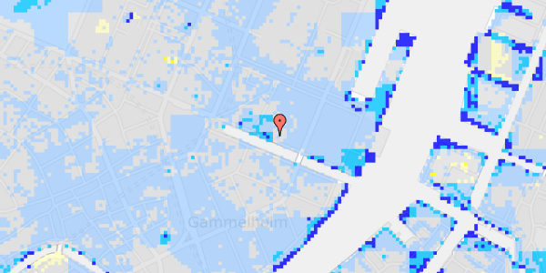 Ekstrem regn på Nyhavn 31A, 3.