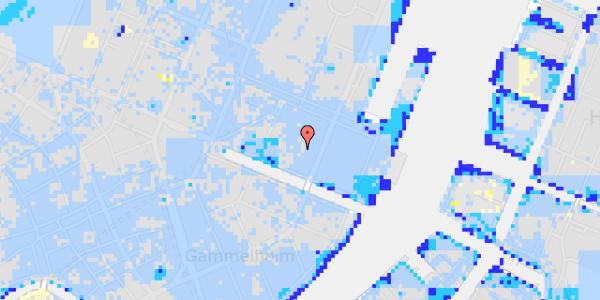 Ekstrem regn på Nyhavn 31G, 1.