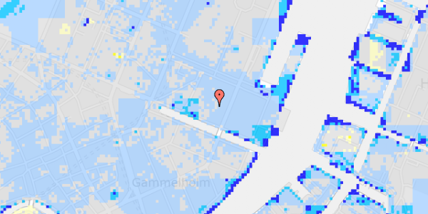 Ekstrem regn på Nyhavn 31G, 3.