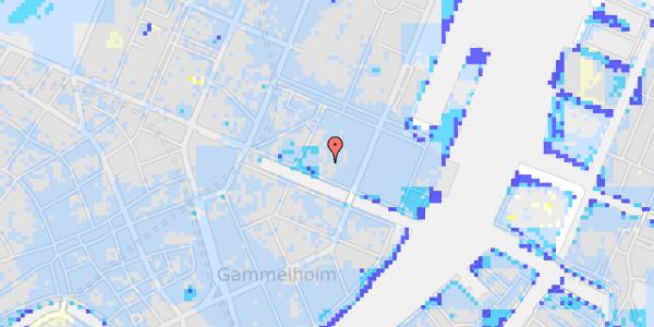Ekstrem regn på Nyhavn 31J, 3. th