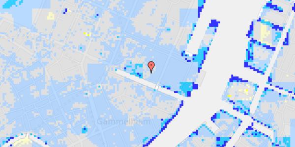 Ekstrem regn på Nyhavn 31K, 3.