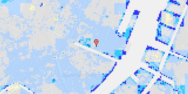 Ekstrem regn på Nyhavn 37, kl.
