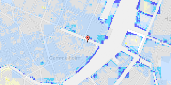 Ekstrem regn på Nyhavn 38, 1. tv