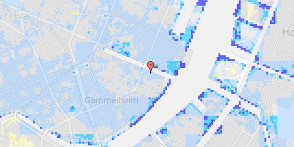 Ekstrem regn på Nyhavn 38, 2. tv