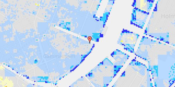 Ekstrem regn på Nyhavn 44, 4.