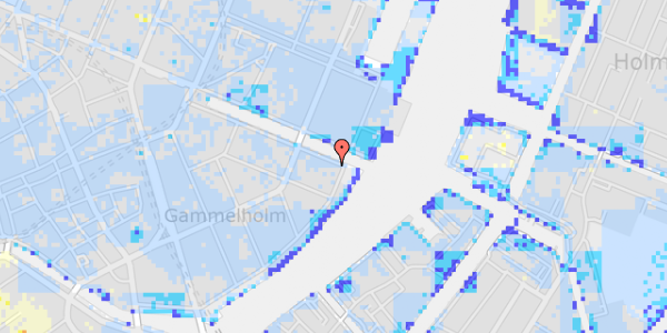 Ekstrem regn på Nyhavn 44, 5.