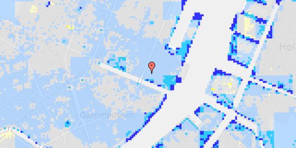 Ekstrem regn på Nyhavn 49C, 1.