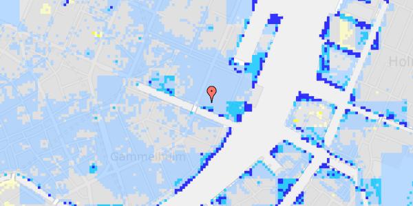 Ekstrem regn på Nyhavn 53, 2.
