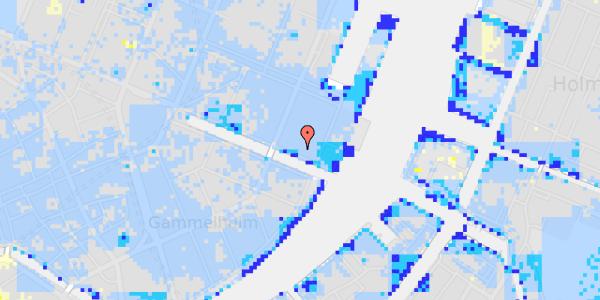 Ekstrem regn på Nyhavn 63A, 3.