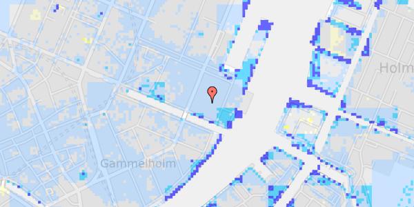Ekstrem regn på Nyhavn 63C, 2. 13