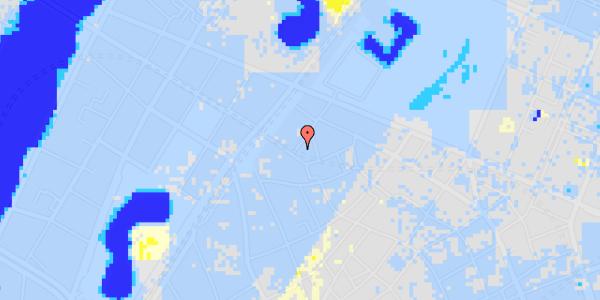 Ekstrem regn på Rosenborggade 2, 1. tv