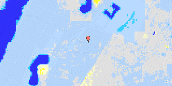 Ekstrem regn på Rosenborggade 2, 2. th