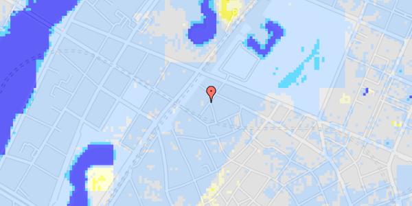 Ekstrem regn på Rosenborggade 5, kl. 1