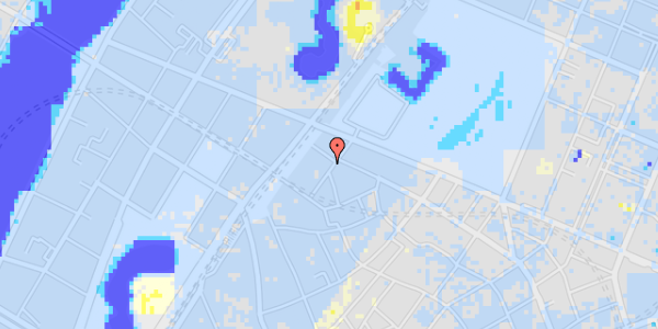 Ekstrem regn på Rosenborggade 9, 1.