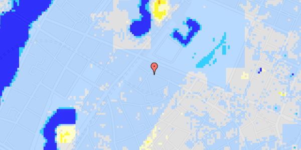 Ekstrem regn på Rosenborggade 12