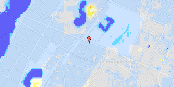 Ekstrem regn på Rosenborggade 19, st. th