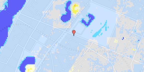 Ekstrem regn på Rosenborggade 19, 3. tv