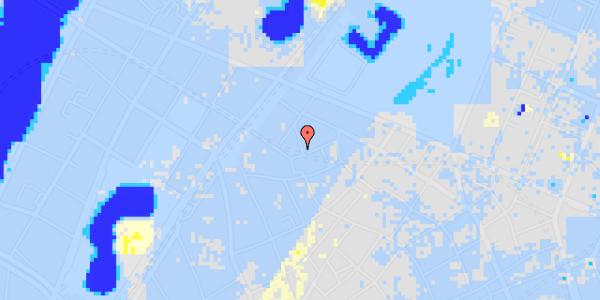 Ekstrem regn på Sankt Gertruds Stræde 1, 2.