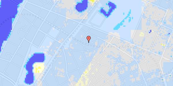 Ekstrem regn på Sankt Gertruds Stræde 1, 5.