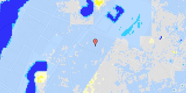 Ekstrem regn på Sankt Gertruds Stræde 6B, 4.