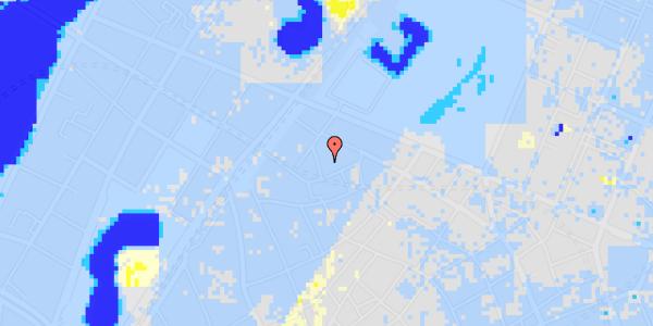 Ekstrem regn på Sankt Gertruds Stræde 6E, 3. tv