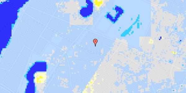 Ekstrem regn på Sankt Gertruds Stræde 8A, kl.