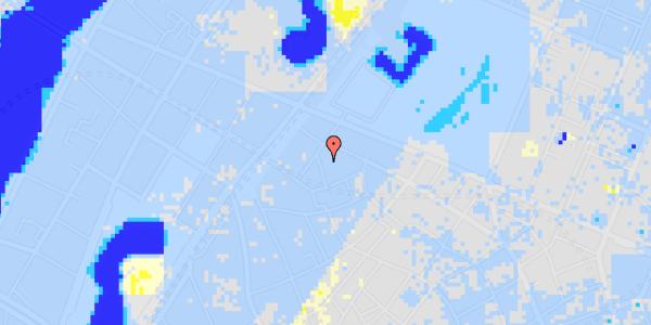 Ekstrem regn på Sankt Gertruds Stræde 8B, 2. th