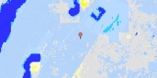 Ekstrem regn på Sankt Gertruds Stræde 10, 1. 1