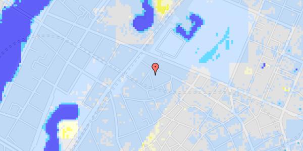 Ekstrem regn på Sankt Gertruds Stræde 10, 3. 2