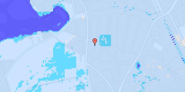 Ekstrem regn på Vilhelm Birkedals Vej 6, kl.