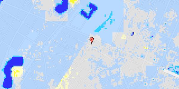 Ekstrem regn på Åbenrå 4, kl.