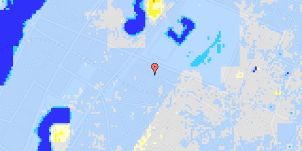 Ekstrem regn på Åbenrå 33, kl.