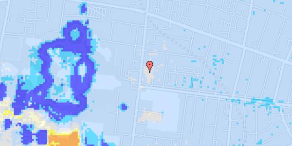 Ekstrem regn på Allegade 6A, 2. th