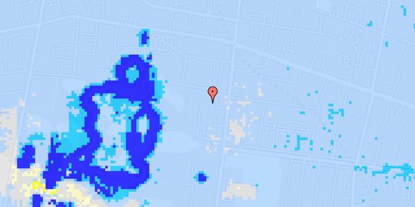 Ekstrem regn på Allegade 15B, 2. th