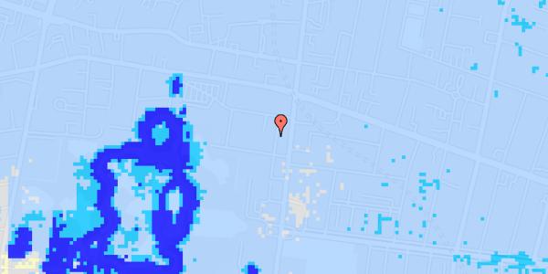 Ekstrem regn på Allegade 25A, st. th
