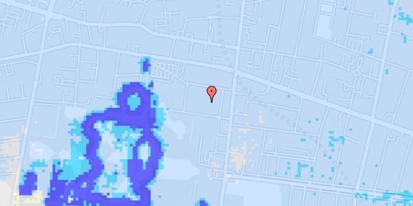 Ekstrem regn på Allegade 25C, 5. th
