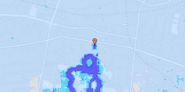 Ekstrem regn på Andebakkesti 4, kl.
