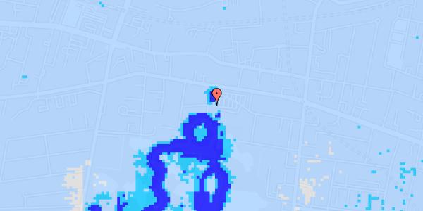 Ekstrem regn på Andebakkesti 5