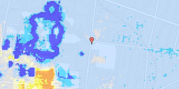 Ekstrem regn på Pile Alle 2, st.