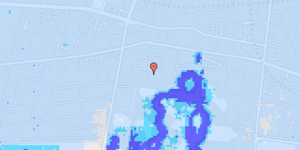 Ekstrem regn på Porcelænshaven 5E, 2. tv
