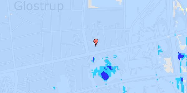 Ekstrem regn på Byparkvej 6, 1. th