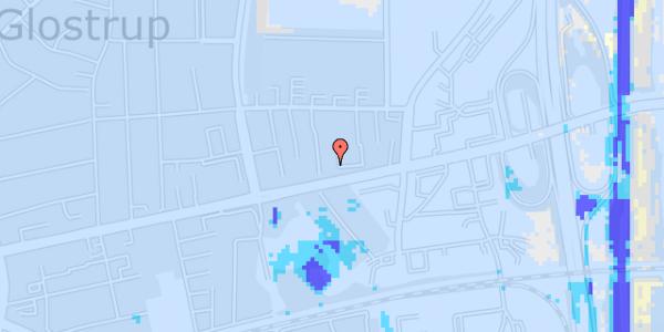Ekstrem regn på Dalvangsvej 15, st. th