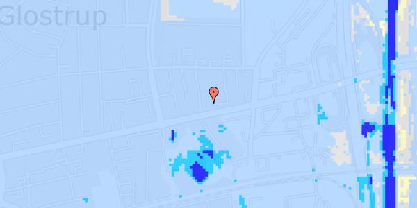 Ekstrem regn på Dalvangsvej 15, 2. th