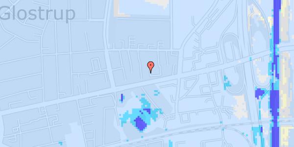 Ekstrem regn på Dalvangsvej 17, st. tv