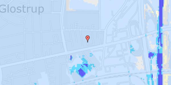 Ekstrem regn på Dalvangsvej 19, st. th