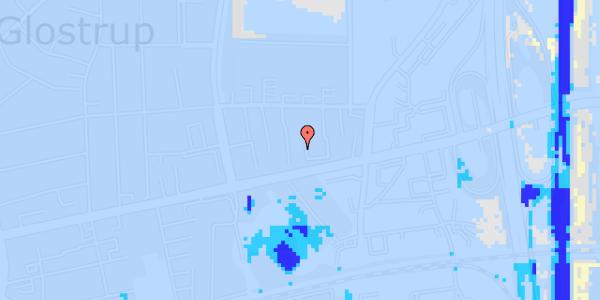 Ekstrem regn på Dalvangsvej 19, st. tv