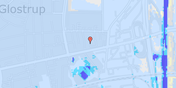 Ekstrem regn på Dalvangsvej 19, 1. th