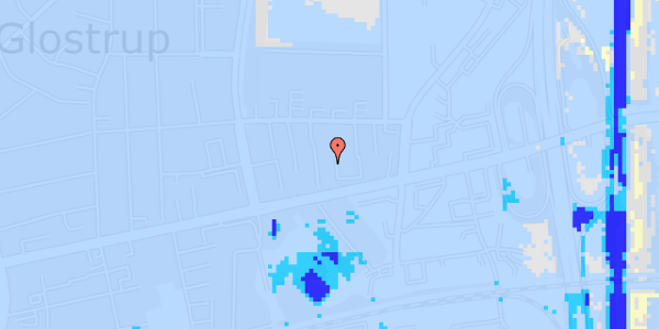 Ekstrem regn på Dalvangsvej 21, 1. tv